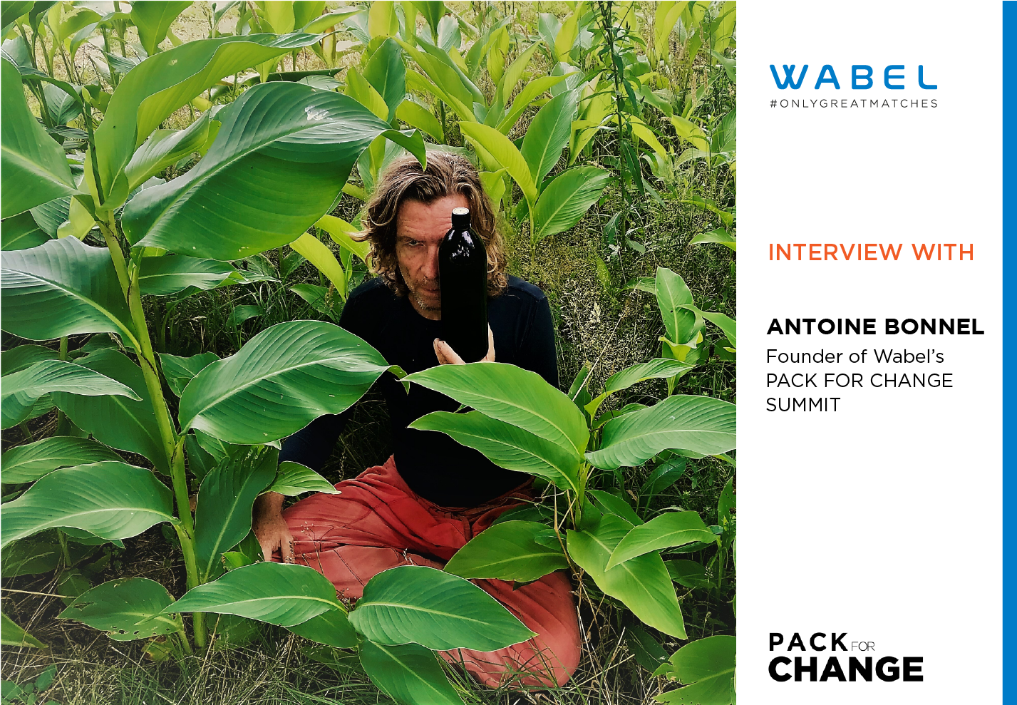 Shocked Into Action: Interview With Wabel Pack for Change Founder Antoine Bonnel