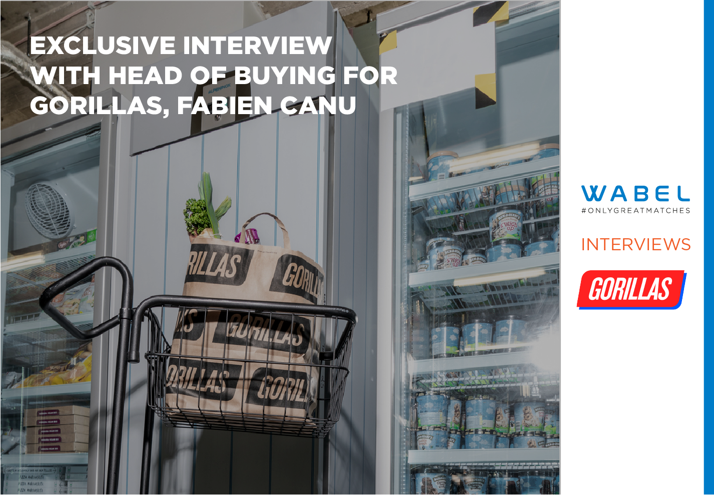 Exclusive Interview with Gorillas, the European Unicorn of On-Demand Grocery Delivery